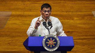 Filininler Devlet Başkanı Rodrigo Duterte
