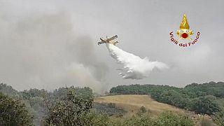 Incendio in Sardegna
