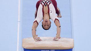 Alman jimnastikçi Kim Bui