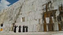 Marble quarry in Russia plays host to concert