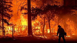 Das sogenannte Dixie Feuer in Kalifornien