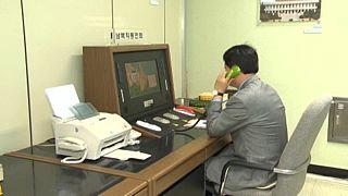 Das südkoreanische Verteidigungsministerium bestätigte, dass die zweimal am Tag stattfindende Kommunikation über eine Militärleitung wiederaufgenommen wurde.