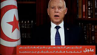 Tunisian President Kais Saied sacks defence minister and acting justice minister