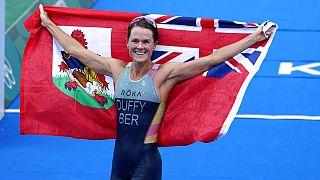 Flora Duffy, medaglia d'oro delle Bermuda.