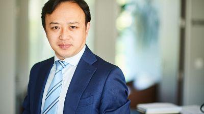 Abraham Liu, Huawei's chief representative to the EU spoke to Euronews Next in Brussels