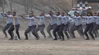 Police Training Shooting Exercises.