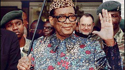 DRC: Monument unveiled in memory of Mobutu Sese Seko