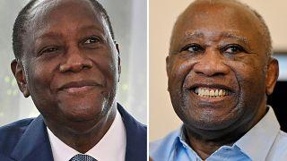 Côte d'Ivoire : face à face entre Laurent Gbagbo et Alassane Ouattara