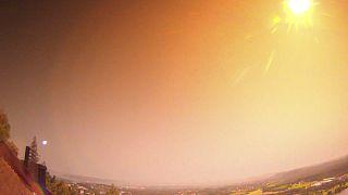 Norveç'te pazar gecesi gökyüzünü gündüze çeviren meteor