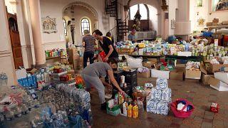 Dans l'église de Trooz, les dons affluent
