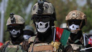 Afganistan ordusu mensubu, özel eğitimli komandolar