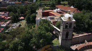El conjunto conventual franciscano fue construido entre 1537 y 1540.