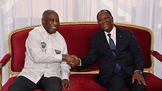 Gbagbo demande à Ouattara de libérer les prisonniers de 2010-2011