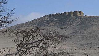El observatorio de Chanquillo, en Perú