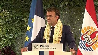 """Макрон: нация """"в долгу"""" перед Французской Полинезией за ядерные испытания"""