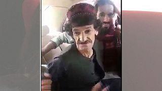خاشه جوان پس از بازداشت توسط طالبان