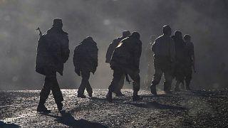 Dağlık Karabağ'daki Ermeni askerleri
