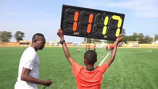 Benin's schools football project seeks to create stars