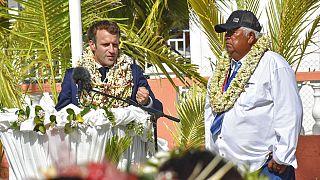Emmanuel Macron assume erros de testes nucleares na Polinésia Francesa