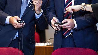 In einem der größten Steuerhinterziehungsprozesse Deutschlands stehen zwei britische Investmentbanker vor Gericht, 4.9.2019