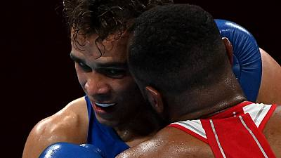 Moroccan boxer Baalla tries to bite opponent in Tokyo Olympics defeat