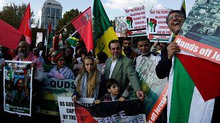تظاهرات در اعتراض به اسرائیل در آفریقای جنوبی