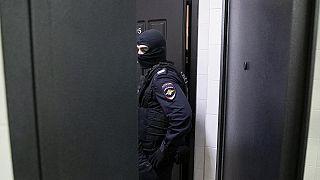 Durchsuchung einer Wohnung durch die Polizei