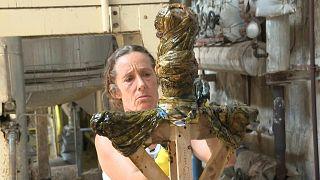 فنانة الصابون في مرسيليا تنحت الصحة في زمن الجائحة