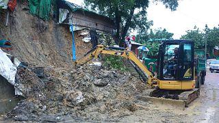 اردوگاه حادثه دیده آوارگان روهینگیایی در بنگلادش