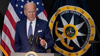 ABD Başkanı Joe Biden, ABD Ulusal İstihbarat Direktörlüğü'nü (ODNI) ziyaret ederek konuşma yaptı