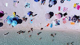 Strand in Kroatien - Symbolbild