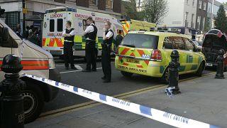 عناصر من الشرطة البريطانية في لندن