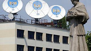 La sede di TVN24 a Varsavia
