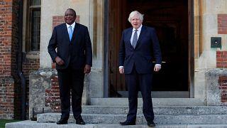 Kenya : le président Kenyatta rencontre Boris Johnson au Royaume-Uni