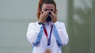 Alessandra Perilli, prima medaglia olimpica per San Marino.