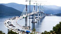 Inaugurado el puente que une Dubrovnik con el resto de Croacia sin pasar por Bosnia-Herzegovina