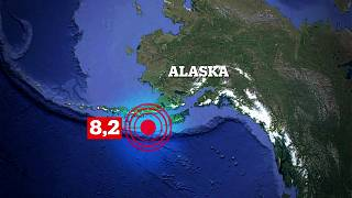 Alaska kıyılarında 8.2 büyüklüğünde deprem meydana geldi