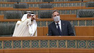 وزير الخارجية الأمريكي في الكويت