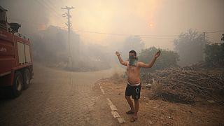 Manavgat'taki yangın