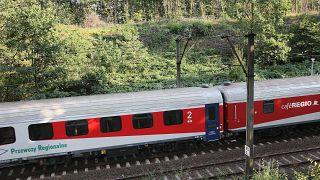 A local train near Walbrzych, Poland, on Sept. 1, 2015.