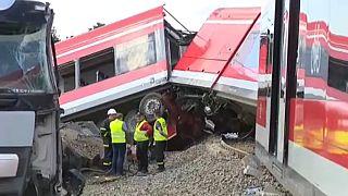 Vonatbaleset Lengyelországban