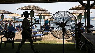 Onda de calor na Grécia