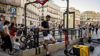 ميدان سول في مدريد، إسبانيا، الخميس 8 يوليو 2021.