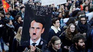 تظاهرات سال ۲۰۱۸ علیه اصلاحات دانشگاهی در فرانسه