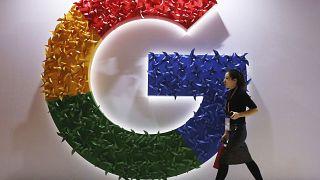 Логотип Google, архивное фото