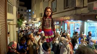 Puppet of young Syrian refugee embarks on 5,000-mile journey