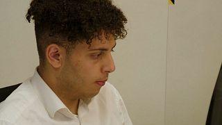 مصطفی حسن، جوان ۱۸ ساله در نروژ