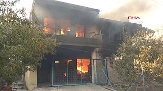حريق غابات في تركيا