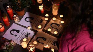 Die Journalistin Caruana Galizia wurde im Oktober 2017 durch die Explosion einer Autobombe getötet.