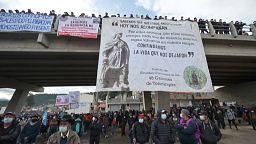 Huelga general contra la corrupción en Guatemala